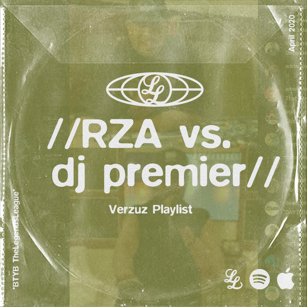 VERZUZ Playlist - RZA vs. DJ Premier