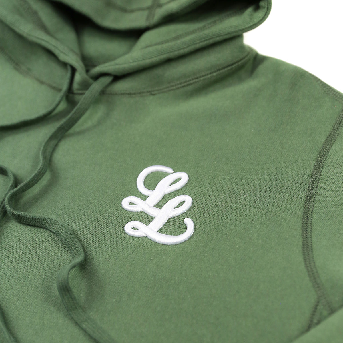 RAISED LL LOGO HOODED SWEATSHIRT