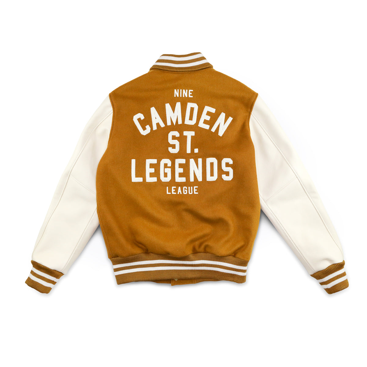 9 CAMDEN ST. + ROOTS 5 YEAR AWARD JACKET [CARAMEL]