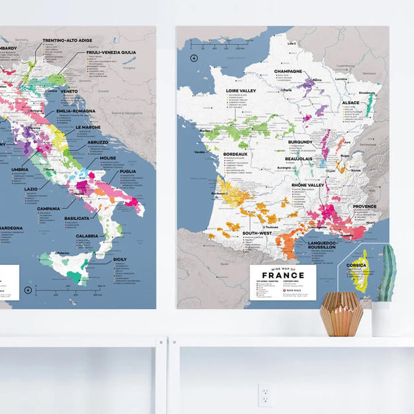 Wine Maps of the World