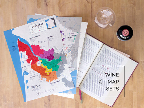 Wine Map Sets
