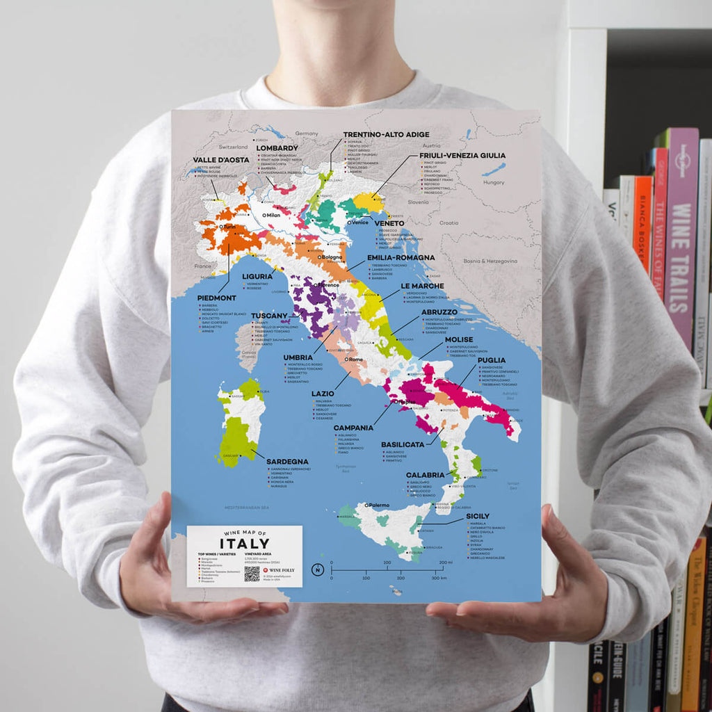 Map of Italy Wine Regions