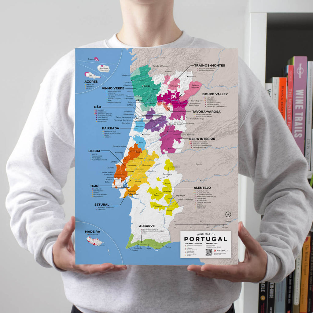 Map of Portugal Wine Regions