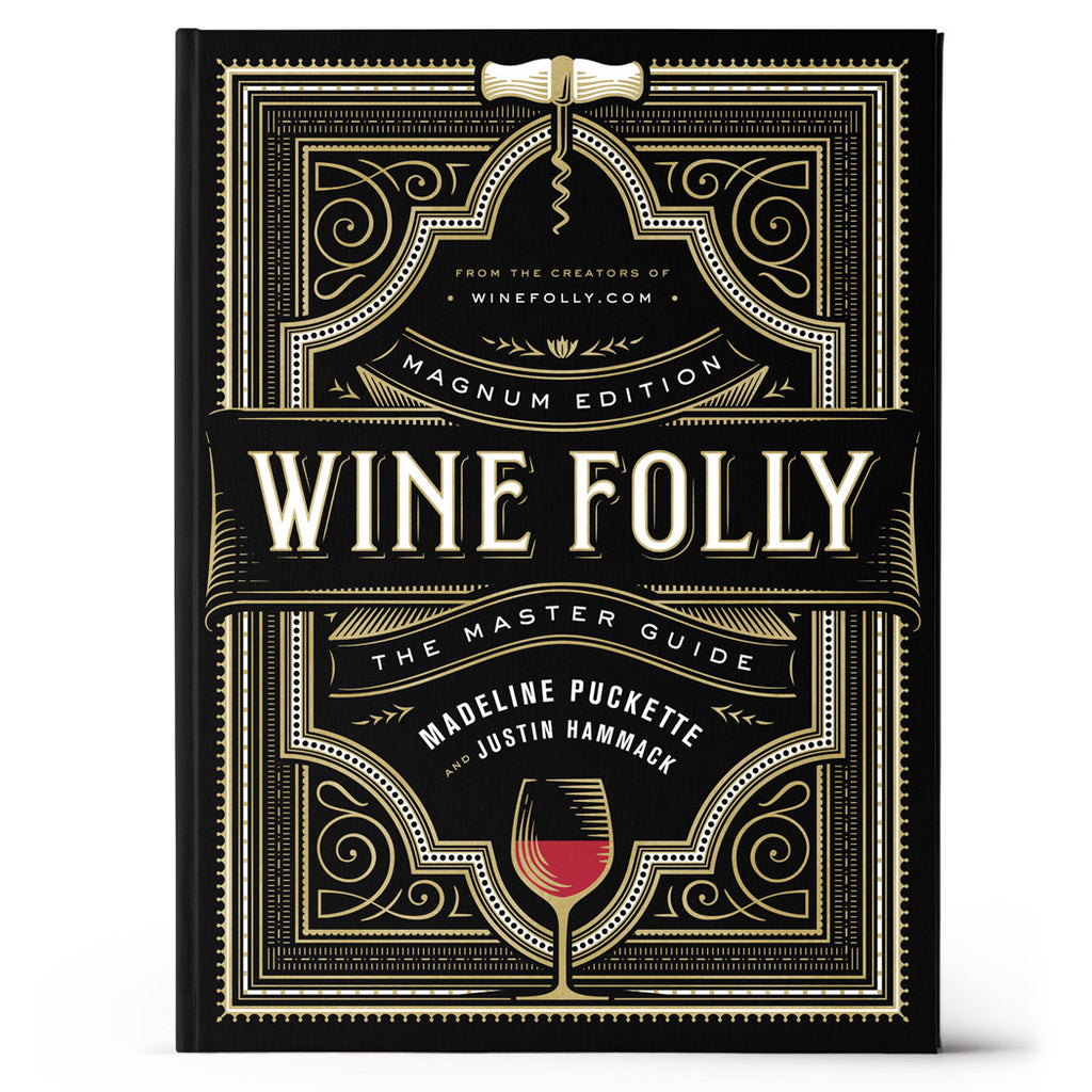 Front view of Wine Folly Magnum Edition James Beard award winning book