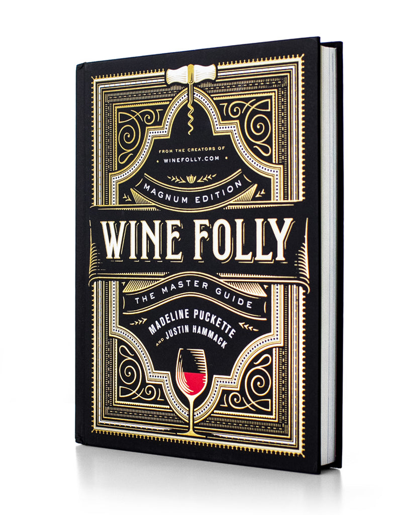 Front view of the Wine Folly Magnum Edition The Master Guide - James Beard award winning book