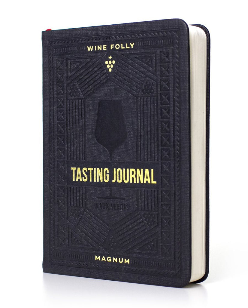 Wine Tasting Journal front cover by Wine Folly