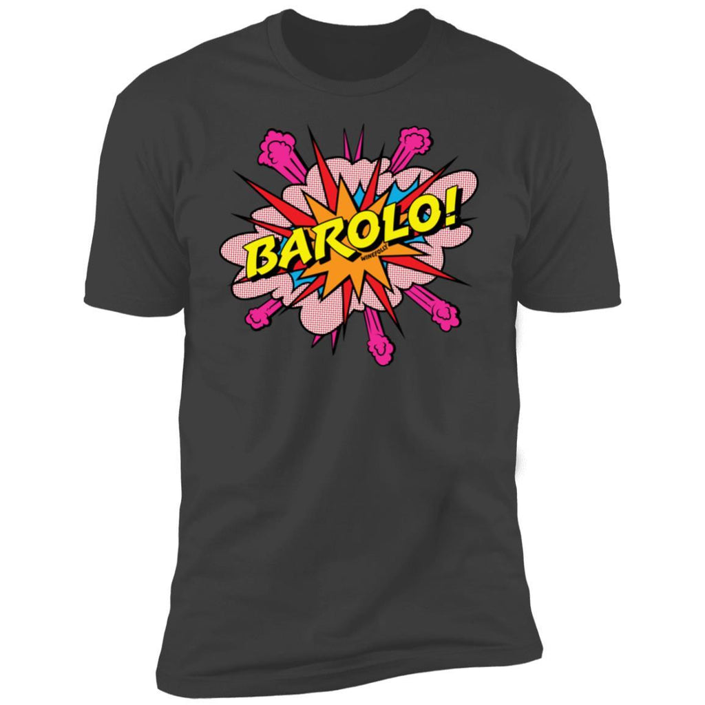 barolo wine t-shirt apparel mens gray folly