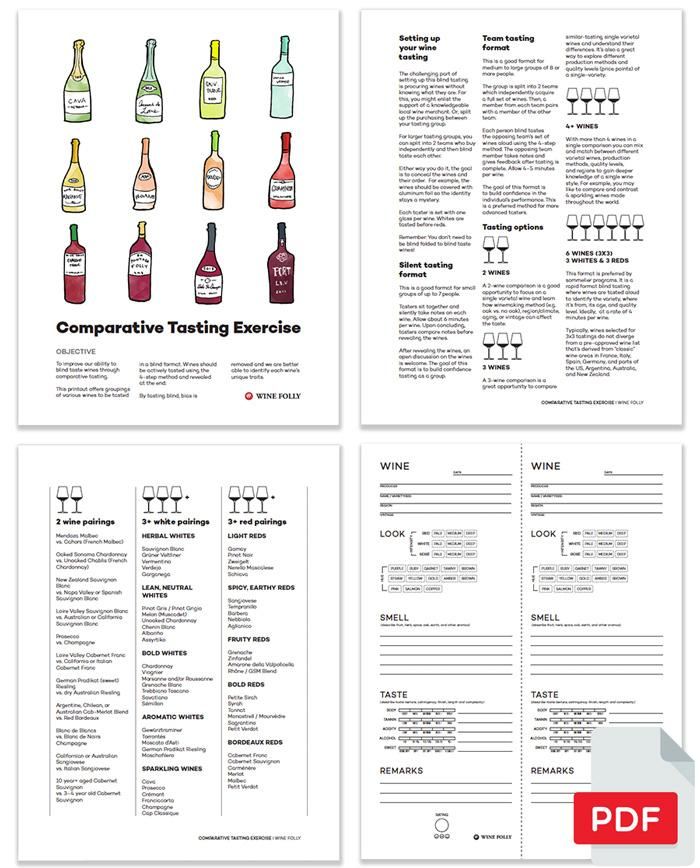 Blind Wine Tasting Party (pdf) How To Guide - Inside Pages