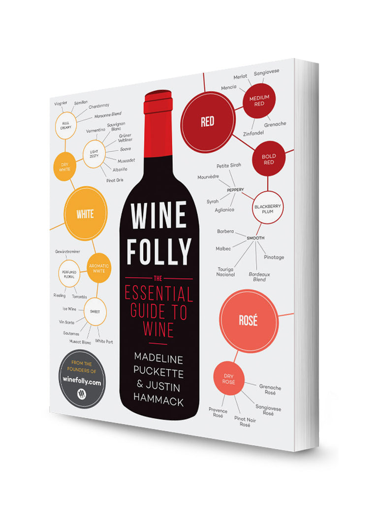 Front cover of Wine Folly Essential Guide