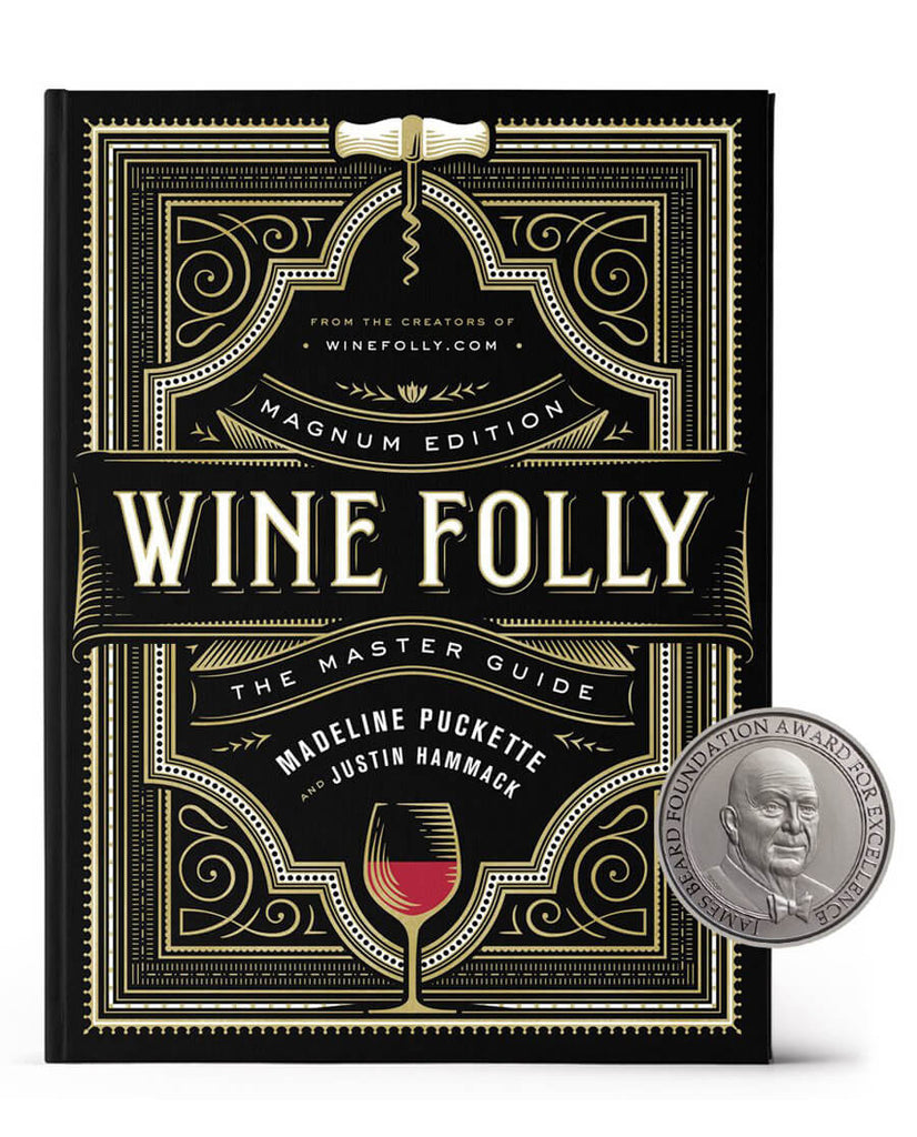 Wine Folly: Magnum Edition: The Master Guide book - James Beard Award 2019