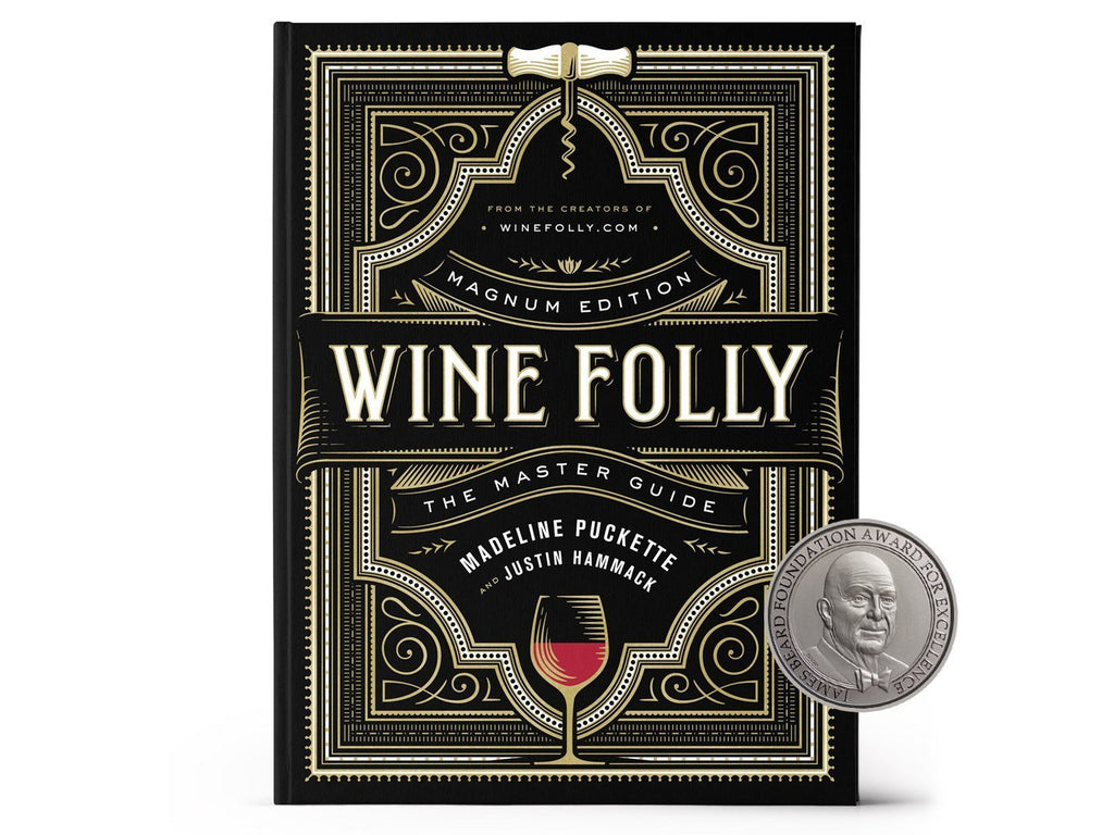 Front cover of Wine Folly Magnum Edition James Beard award winning book