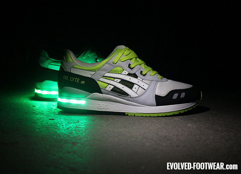 Asics Gel Lyte III Light Up Shoes Concept