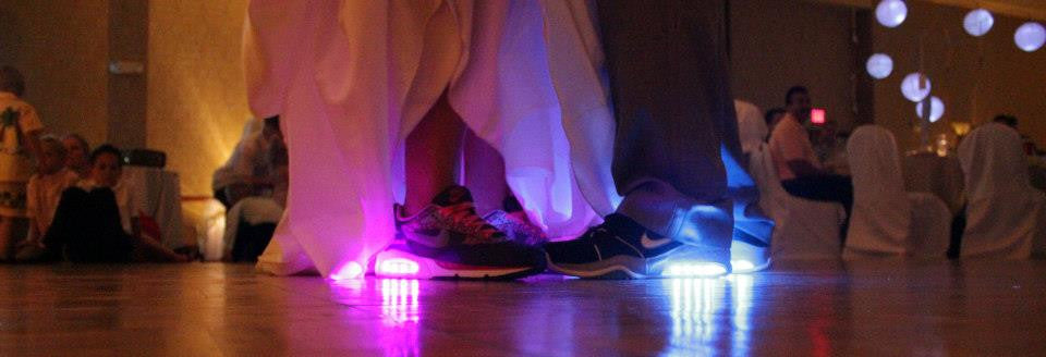 light up wedding shoes