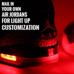 LIGHT UP AIR JORDAN RETRO SNEAKERS BUY