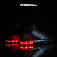 CUSTOM AIR JORDAN SNEAKERS WITH LIGHTS