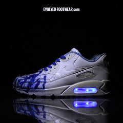 "NIKE AIR MAX 90 ""PROJECT 6: BLUE INK"" CUSTOMS"