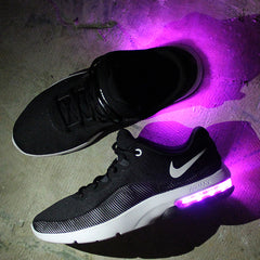 WOMEN'S BLACK NIKE AIR MAX ADVANTAGE 2 WITH LIGHTS - Evolved Footwear