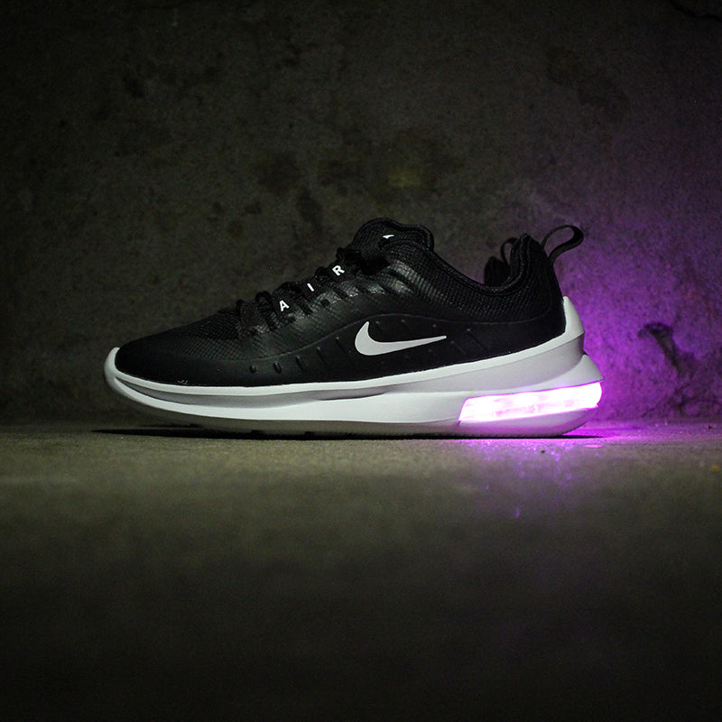 WOMENS BLACK NIKE AIR MAX AXIS WITH LIGHTS - Evolved Footwear