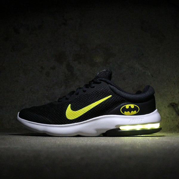 59dd4fcd1099 YOUTH NIKE AIR MAX ADVANTAGE BATMAN WITH YELLOW LIGHTS