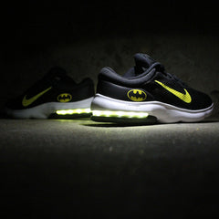 YOUTH NIKE AIR MAX ADVANTAGE BATMAN WITH YELLOW LIGHTS - Evolved Footwear