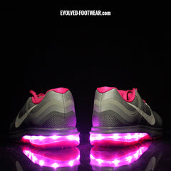 WOMEN'S NIKE AIR MAX DYNASTY 2 WITH PINK LIGHTS