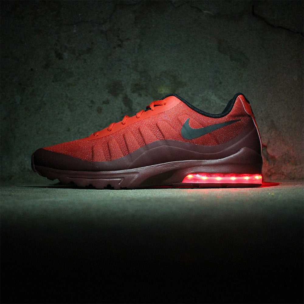 RED NIKE AIR MAX INVIGOR WITH LIGHTS - Evolved Footwear