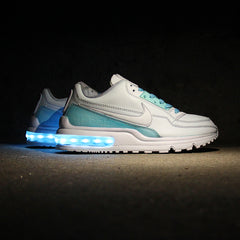 TURQUOISE BLUE DIP-DYED NIKE AIR MAX LTD WITH LIGHTS - Evolved Footwear