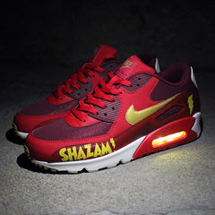 NIKE AIR MAX 90 SHAZAM! WITH YELLOW LIGHTS - Evolved Footwear