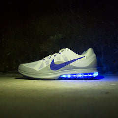 BLUE NIKE AIR MAX DYNASTY 2 WITH LIGHTS - Evolved Footwear