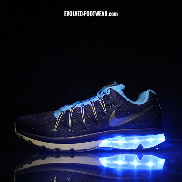 ccce0bfae99 ... blue nike air max excellerate 5 with lights . ...