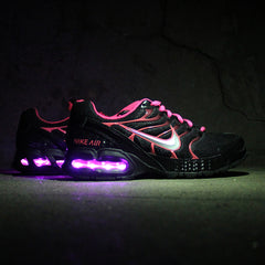 WOMEN'S BLACK AND PINK NIKE AIR MAX TORCH 4 WITH LIGHTS - Evolved Footwear
