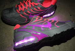 WOMEN'S GRAY NIKE AIR MAX TORCH 4 WITH LIGHTS - Evolved Footwear