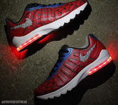 Spider-Man Nike Air Max Invigor SL Premium with RED Lights