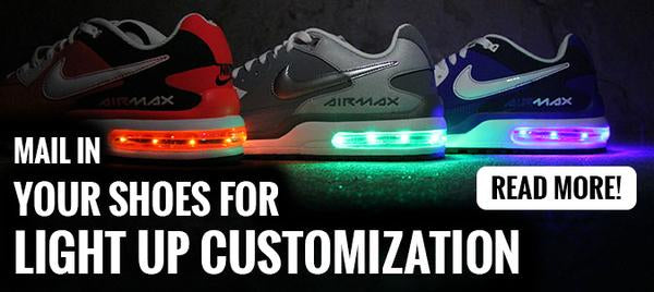 MAKE YOUR OWN LIGHT UP SHOES Evolved Footwear
