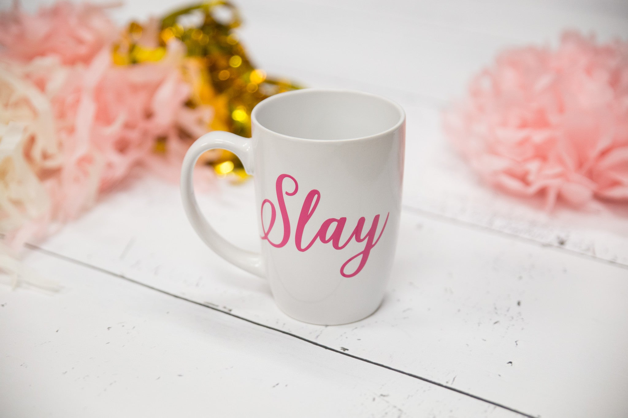 Slay Slay Queen Slay All Day Coffee Mug WaterfallDesigns