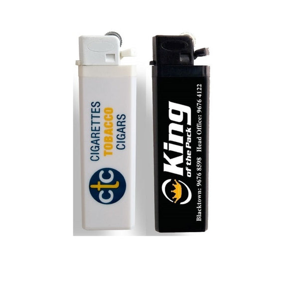 Cigarette Lighters (Solid Colours) - Promosmart Australia