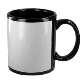 Black Can Mug Sublimation 330ml - Promosmart Australia