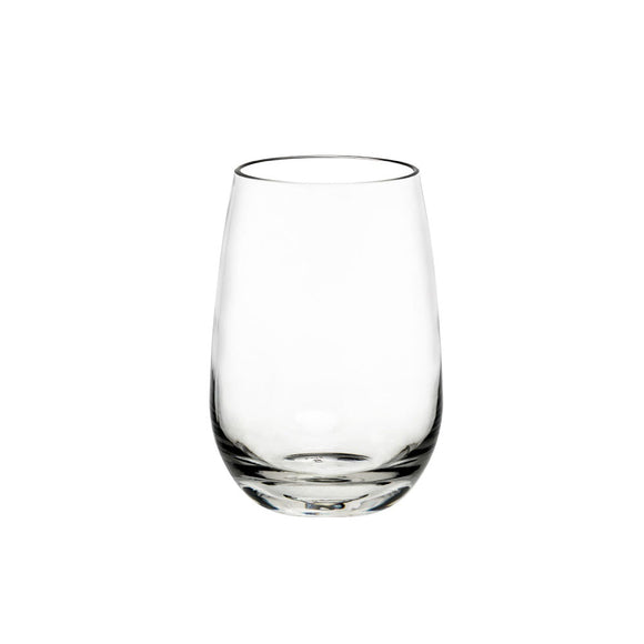 Premium Polycarb Stemless Wine Glass 480ml