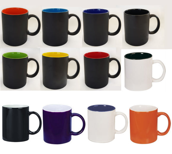 Two Tone Can Mug 330ml