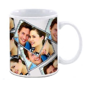 White Can Mug Sublimation 330ml