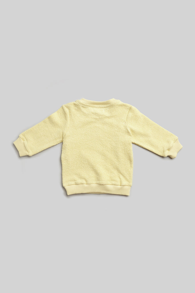 organic french terry sweatshirt