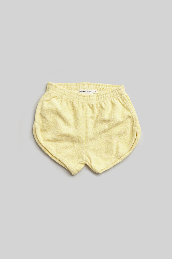 organic french terry short
