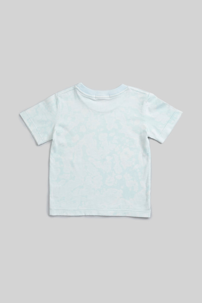 tie dyed organic t-shirt