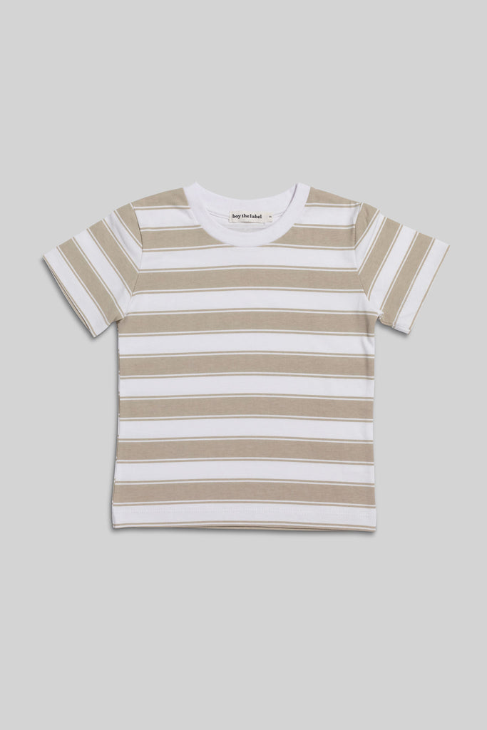 stripe organic t-shirt