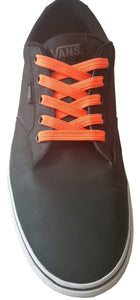 Orange Krush - Elastic Shoe Laces