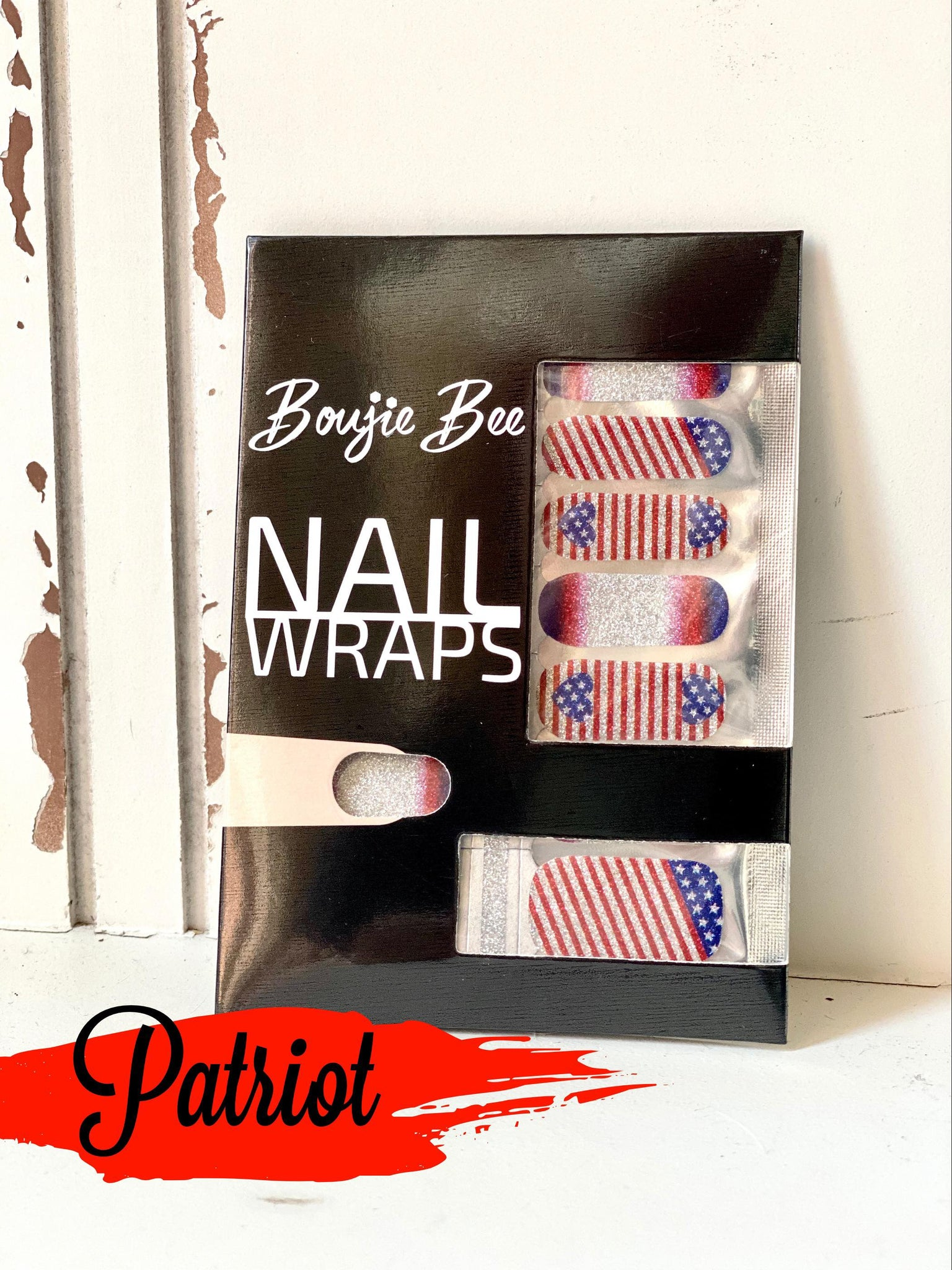 Patriot Nail Wraps