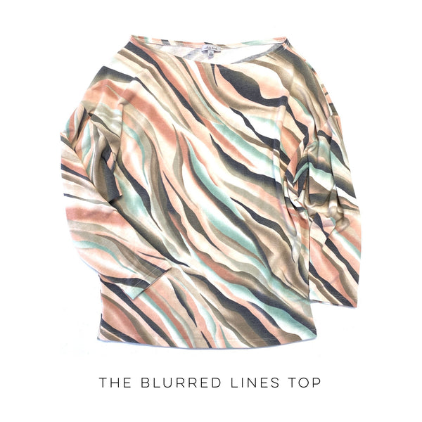 The Blurred Lines Top