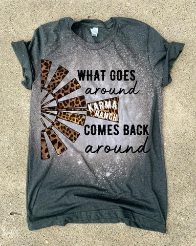 What Goes Around Tee