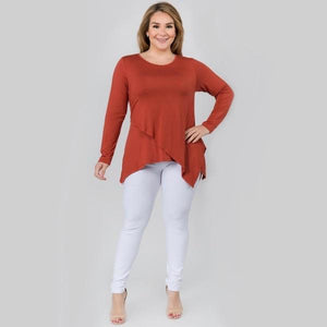 Rust Top Plus Size - RTS