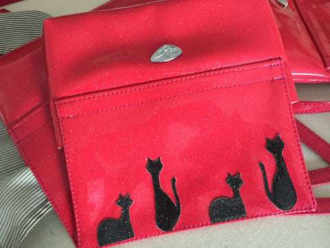 Wristlet- with Mod Cats